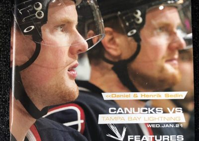 Vancouver Canucks Game Day Magazine Design_2184