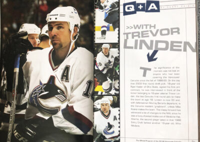 Vancouver Canucks Game Day Magazine Design_2194