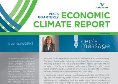 Report: Vancouver Economic Commission