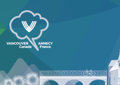 Illustration: Vancouver-Annecy Mission