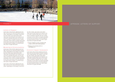 Sport Event Bid Book Design13