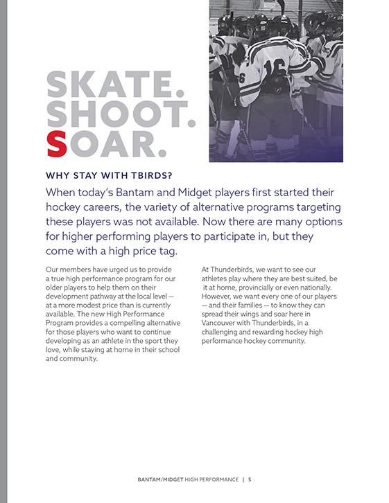 VancouverThunderbirdsHockeyClub BrochureDesign 7