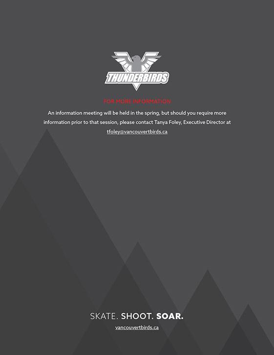 VancouverThunderbirdsHockeyClub BrochureDesign 9