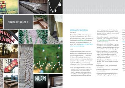 Commonwealth Stadium Rebrand Book Design 10