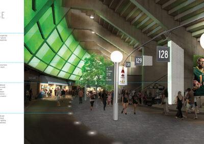Commonwealth Stadium Rebrand Book Design 17