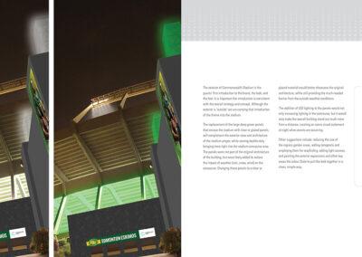 Commonwealth Stadium Rebrand Book Design 28