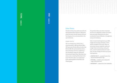 Commonwealth Stadium Rebrand Book Design 7