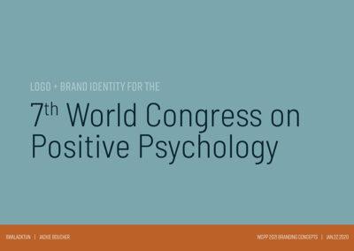 Conference Design Brand Identity wolf cedar 1