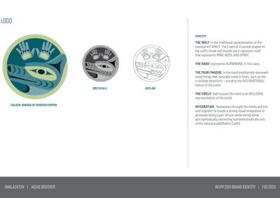 Conference Design Brand Identity wolf cedar 2