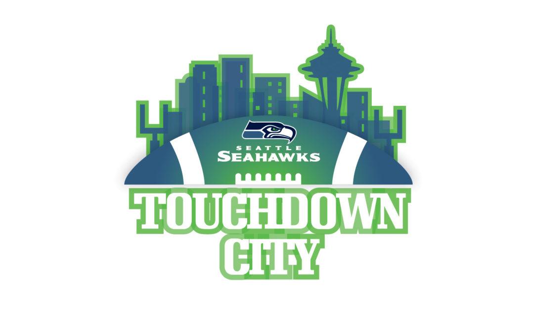 Logos: Seattle Seahawks Fan Zone + Drumline