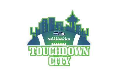 Logos: Seattle Seahawks Fan Zone + Drumline