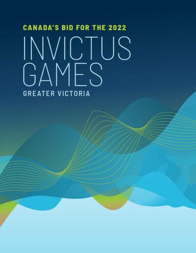 Victoria Bid Book Design Brand Identity Invictus Games cover