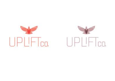 Uplift Co Logo Pigeon Illustration